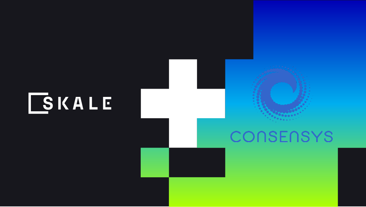 ConsenSys adds support for the SKALE Network to their suite of Ethereum compatible Enterprise blockchain solutions