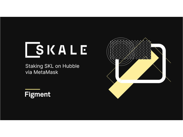 Now stake your SKL on Hubble from Figment