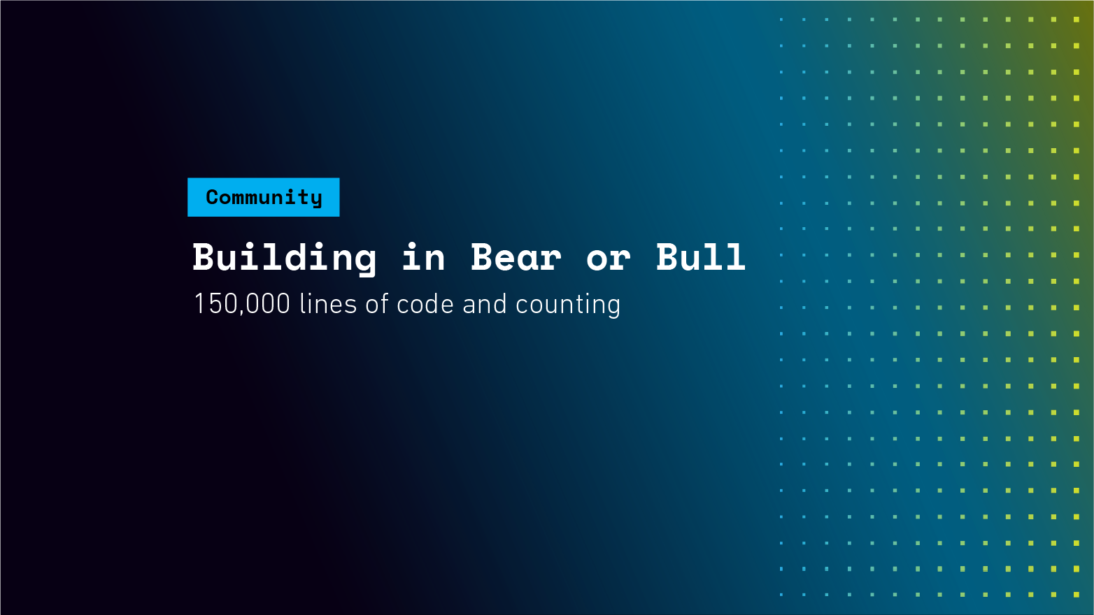 Building in Bear or Bull