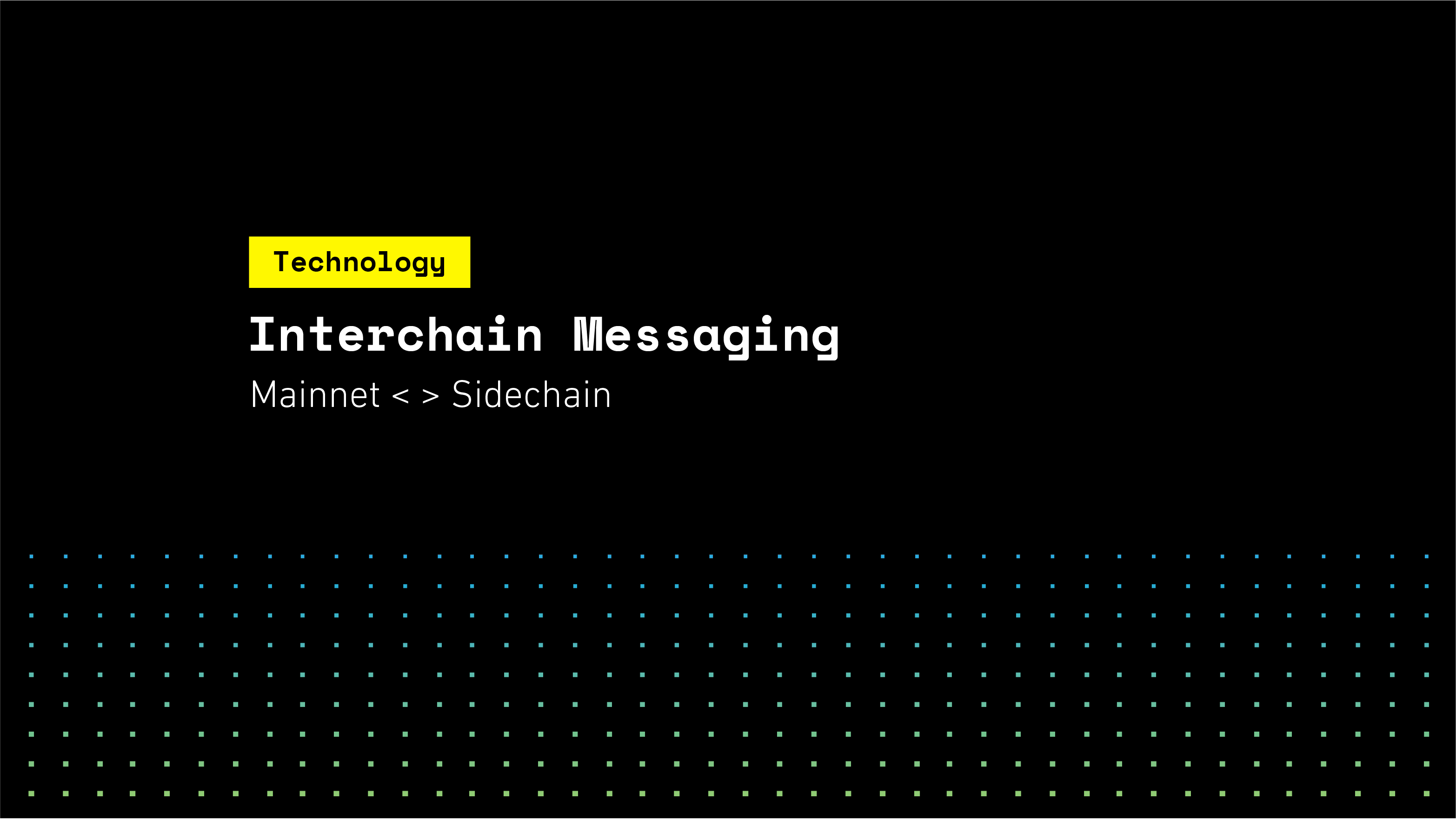 Interchain Messaging with SKALE