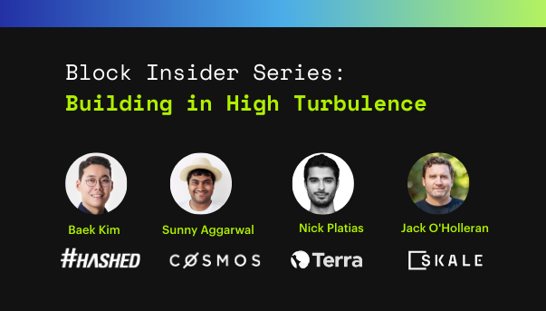 Virtual Panel-Building in High Turbulence: SKALE, Hashed, Cosmos, Terra (Block Insider Series)
