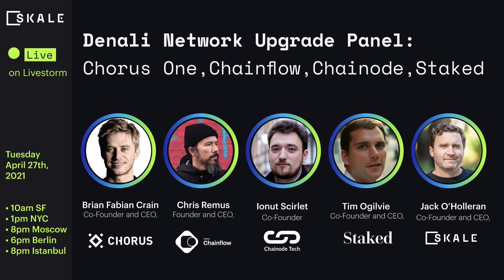 20 takeaways from the Proof Of Stake Validator Panel
