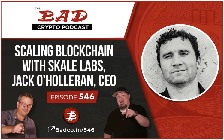 Listen in as Jack O'Holleran joins the Bad Crypto Podcast