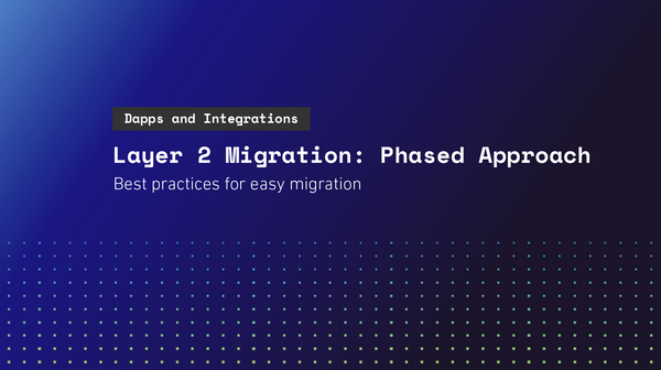 Layer 2 Migration: Phased Approach