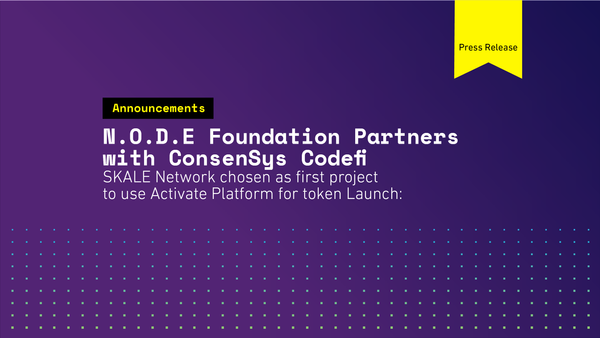 N.O.D.E. Foundation partners with ConsenSys Codefi
