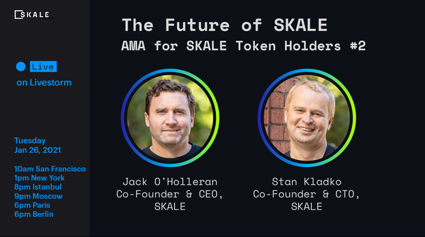 SKALE Token Holders AMA #2