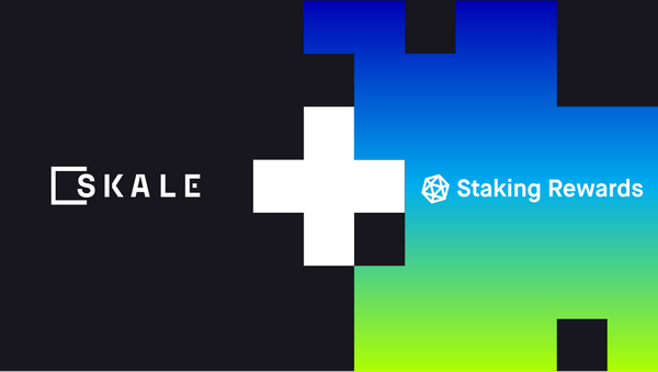 $SKL Debuts in Top 20 Stakeable Tokens on Staking Rewards