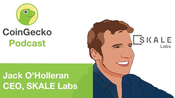 SKALE on CoinGecko Podcast with Bobby Ong