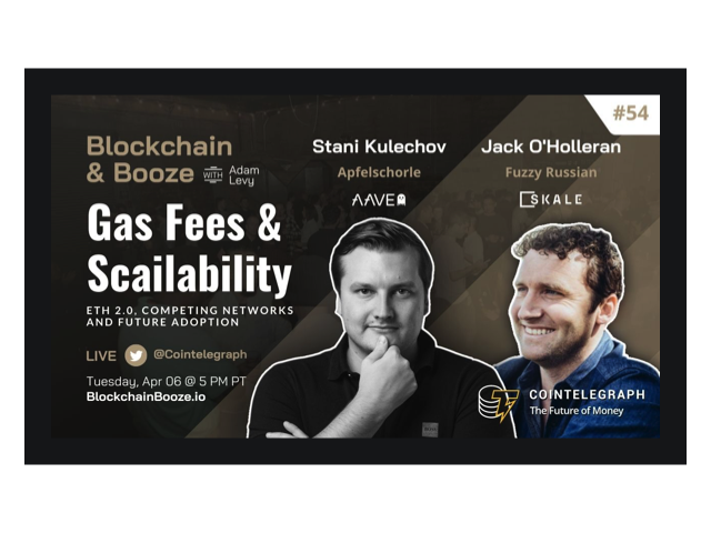 Jack O'Holleran & Stani Kulechov Speak at Blockchain & Booze from Cointelegraph