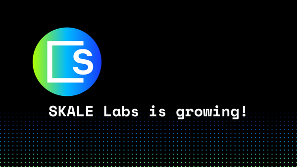 Come join the SKALE Labs core team!