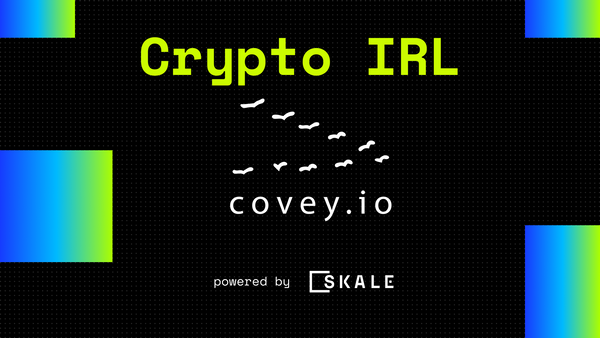 Covey.io Launches on the SKALE Network Targeting the $300million Equities Intelligence Market