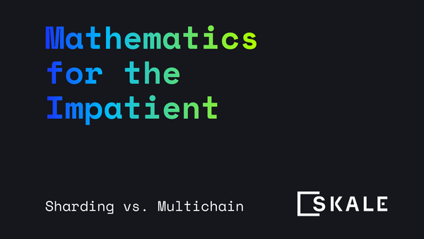 Sharding vs. App Specific Chains: Mathematics for the Impatient